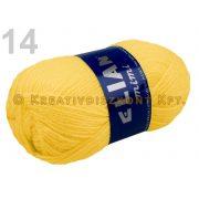 Kötőfonal 50 g Elian Mimi - citromsárga