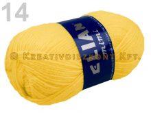 Kötőfonal 50 g Elian Mimi több színben - citromsárga