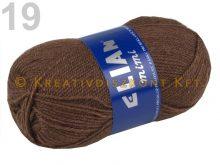 Kötőfonal 50 g Elian Mimi több színben - barna