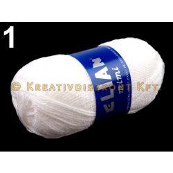 Kötőfonal 50 g Elian Mimi több színben - fehér