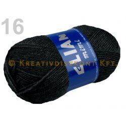 Kötőfonal 50 g Elian Mimi több színben - fekete