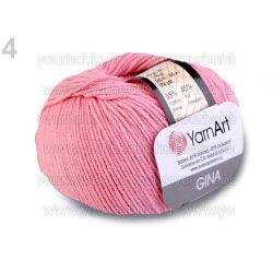 Kötőfonal Gina 50g / Jeans 50g rózsaszín