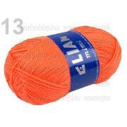Kötőfonal 50g Elian Mimi több színben - élénk narancs
