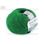 Kötőfonal Gina 50g / Jeans 50g smaragdzöld