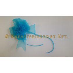 Kék organza masni