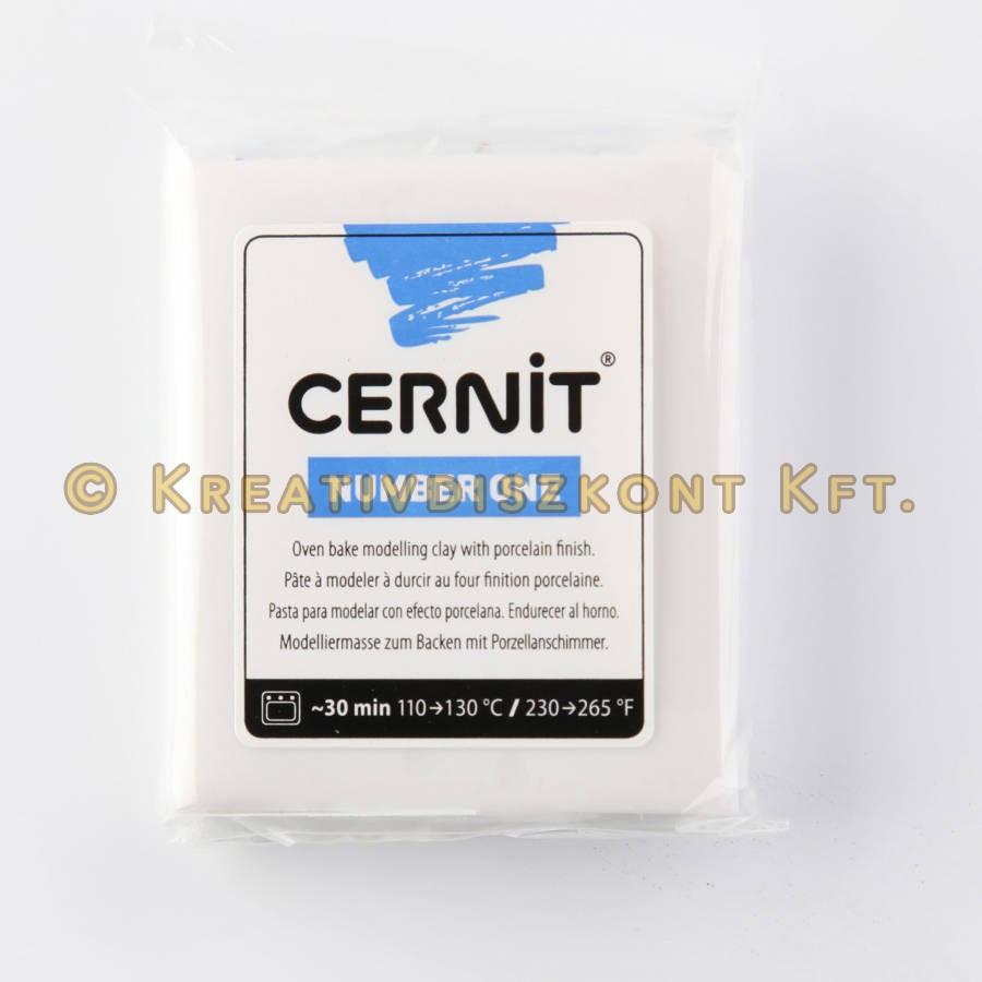 Cernit süthető gyurma N°1, 56 g - porcelánfehér C010